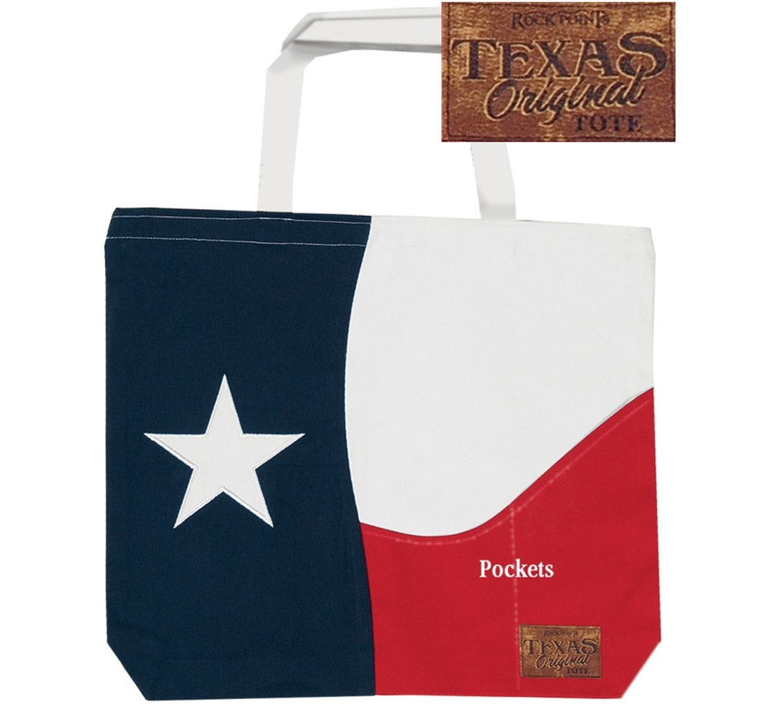 Texas Lonestar Large Tote Bag