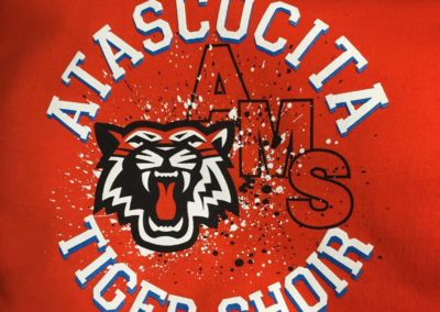 Atascocita Tiger Choir Custom Screen Printed Hoodie