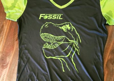 Fossil Screen print