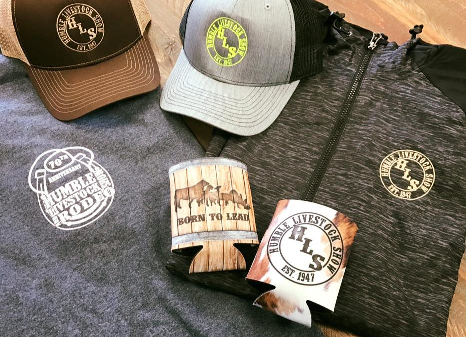 Humble Livestock Show and Rodeo Promotional Items