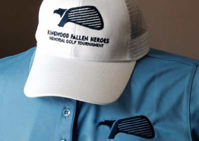 Kingwood Fallen Heroes Custom Embroidery