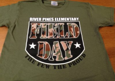 River Pines Elementary Field Day Screen Print