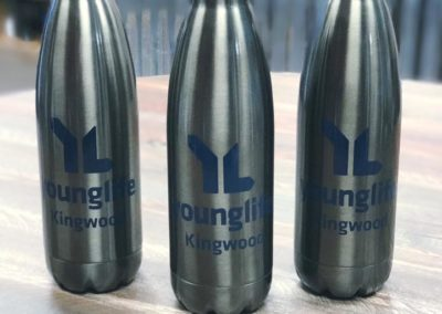 Younglife water bottles