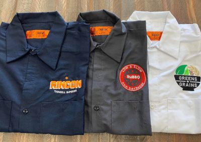 Embroidery for restaurants
